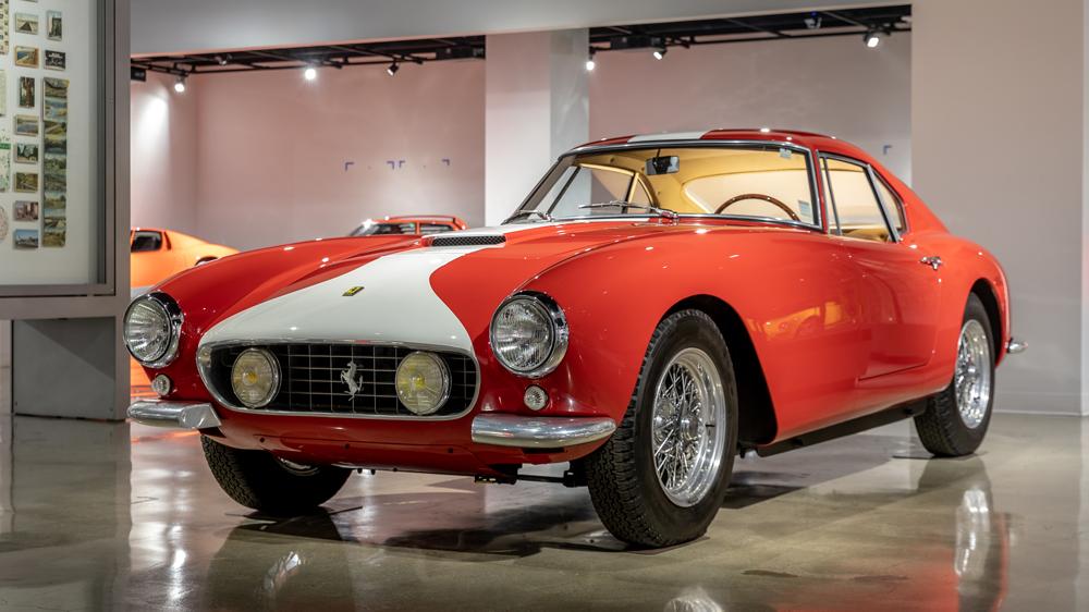 A 1959 Ferrari 250 GT Long Wheelbase (LWB) Berlinetta.