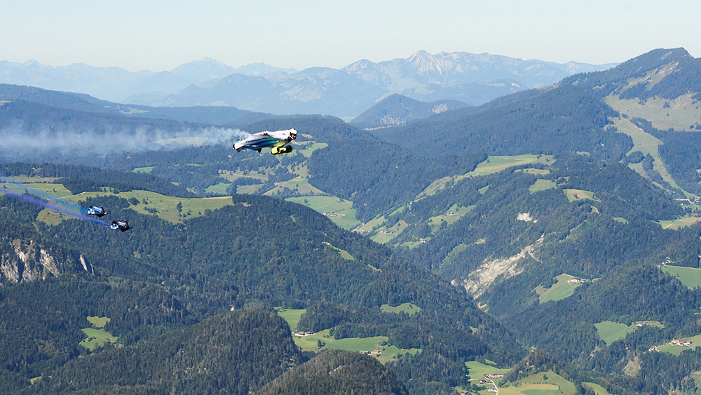 BMW Electric Wingsuit