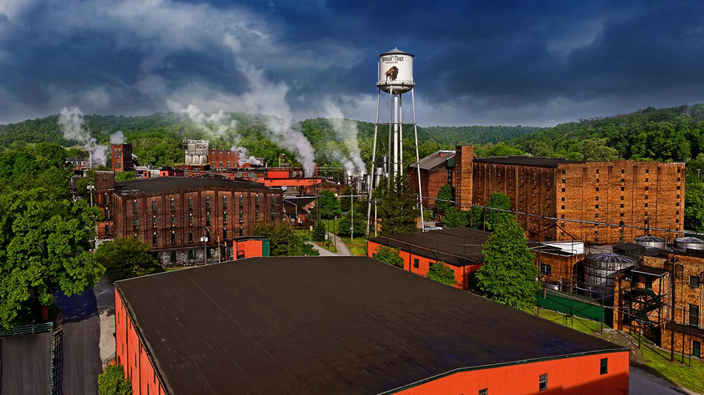 Buffalo Trace Distillery Aerial View