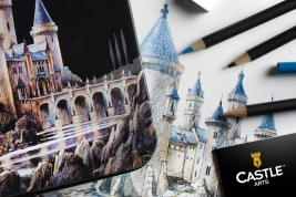 Castle Art Supplies Colored Pencils