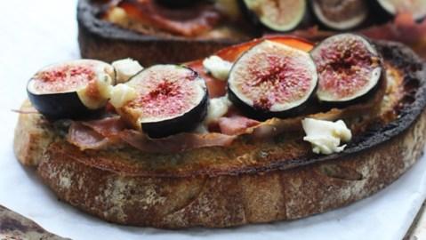 Chris Scott Autumn Fruit Tartine