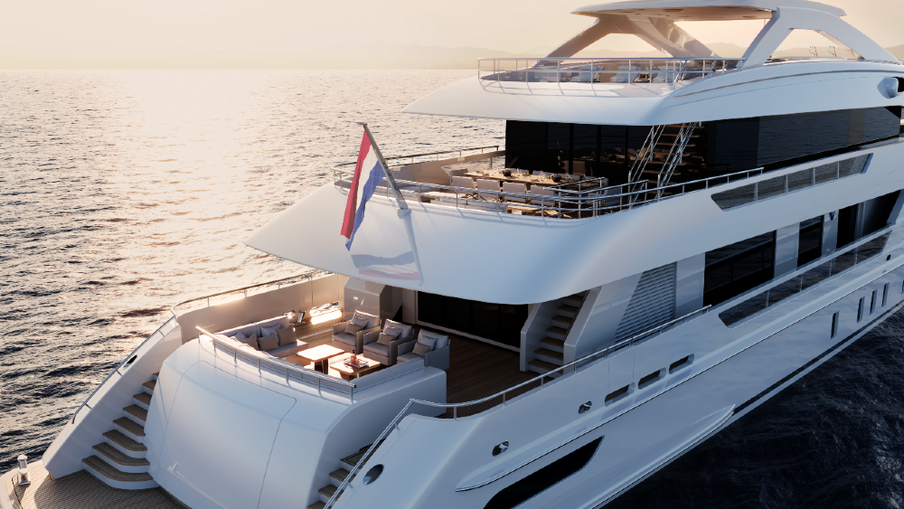 Heesen Gemini Superyacht will be the largest Dutch-pedigreed yacht built in Steel