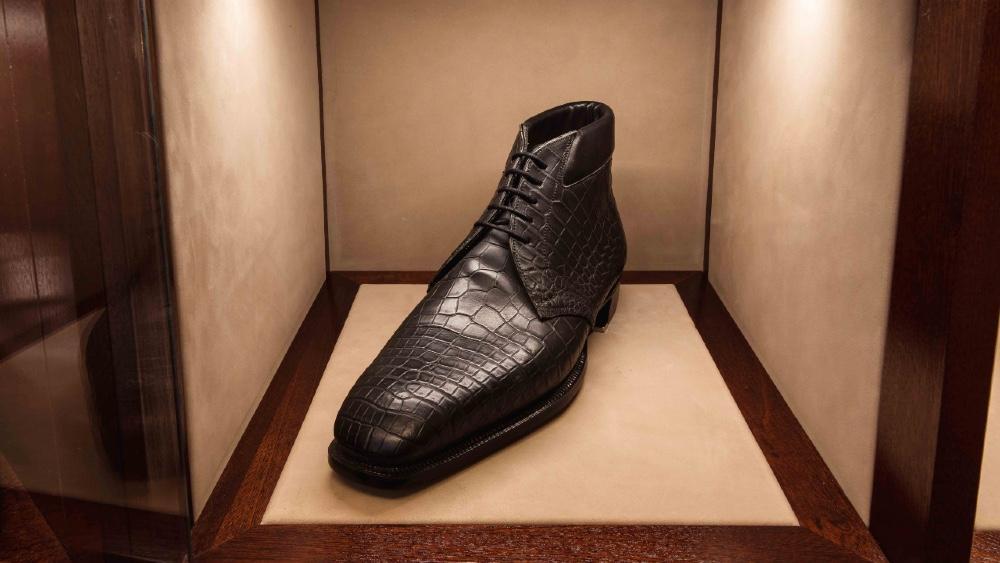 George Cleverley Bespoke Alligator Shoes Bespoke