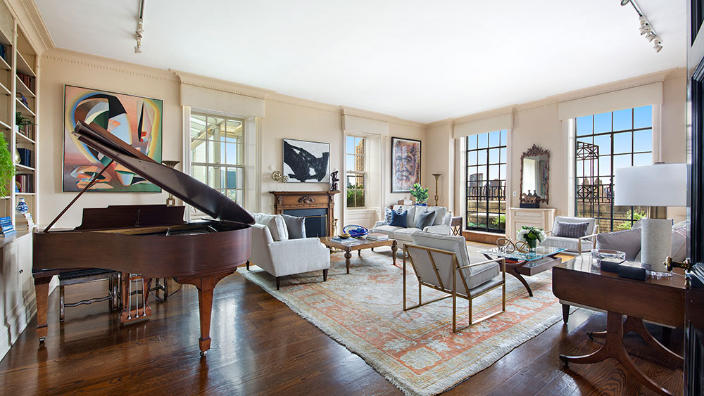 Inside the $29.5 Million Manhattan Penthouse Once Owned by Leonard Bernstein