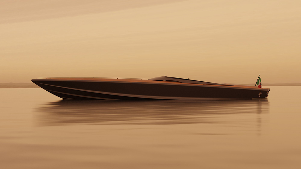 Gianni Agnelli's Iconic 1960s Speedboat Has Been Reinvented for 21st-Century Cruising