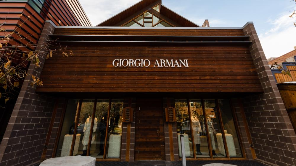Giorgio Armani Aspen pop up