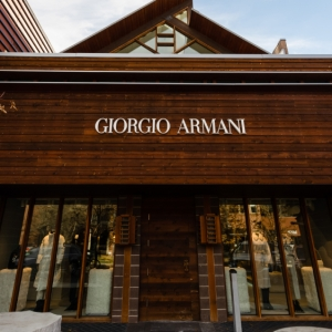 Giorgio Armani Aspen pop up