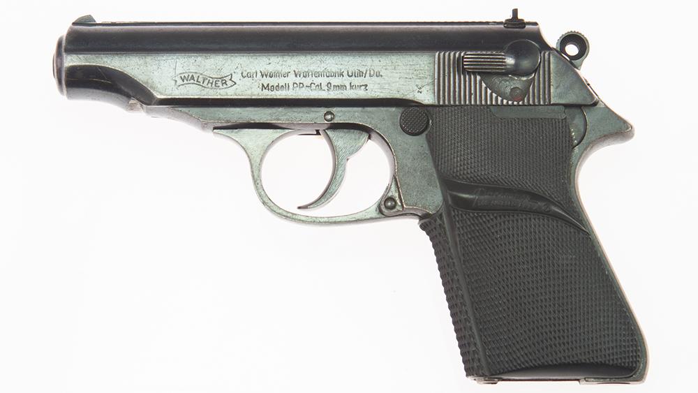 James Bond Walther PP handgun