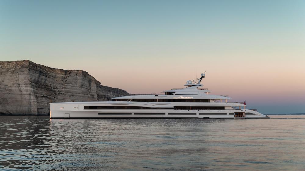 Benetti Lana yacht