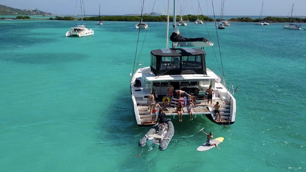 This 52 Lagoon Sailing Catamaran Was Purchased with Bitcoin