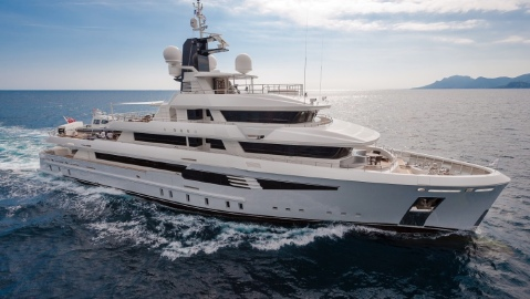 This 165-foot explorer I-Nova is planning to cruise the world