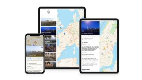 Louis Vuitton City Guides Apple Maps