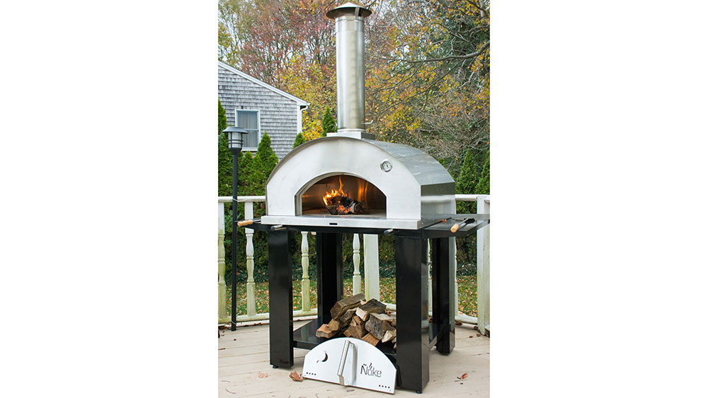 Nuke Pizzero is a new wood-fired outdoor oven