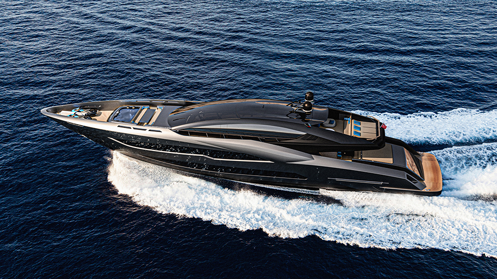 Meet BadGal, a New 141-Foot Superyacht With Bad-Ass Attitude and Blistering Speed