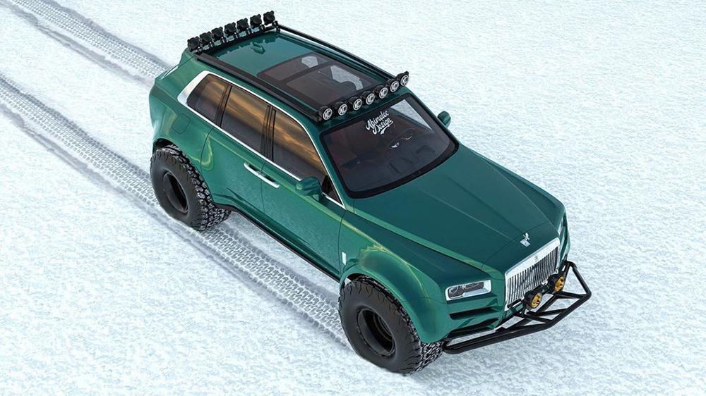 Rolls Royce Cullinan Abimelec Arellano