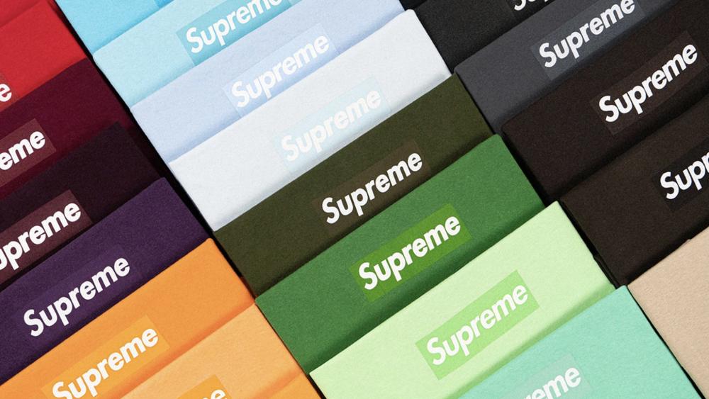Supreme logo tee Christie's