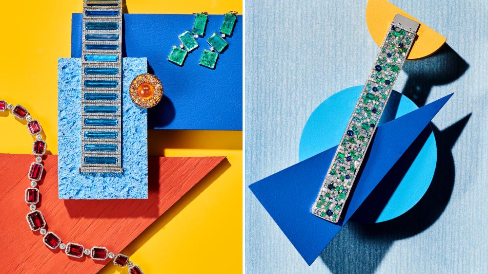 Tiffany & Co. Mish Vram Muzo Harry Winston - Graphic Jewellery