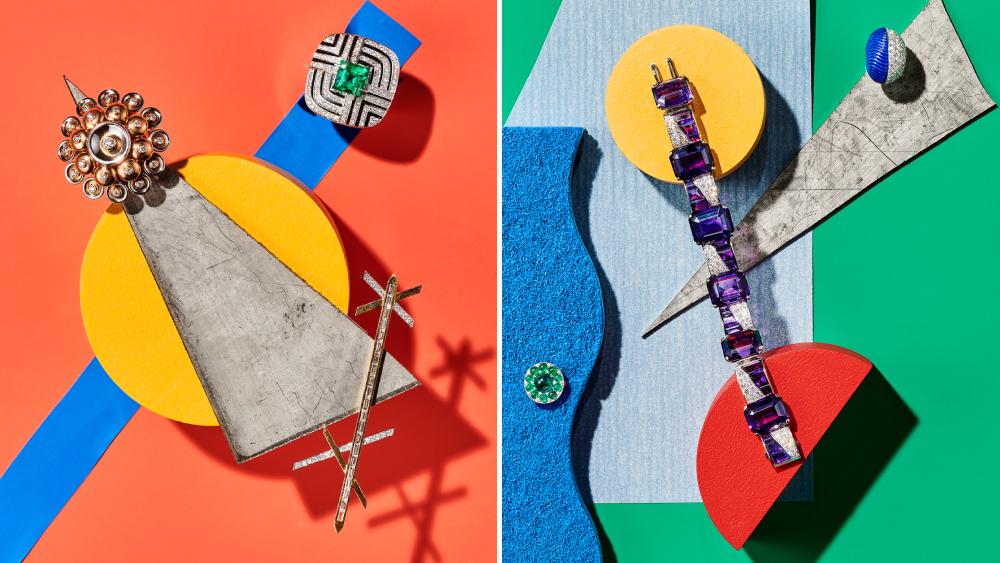 Van Cleef & Arpels Cartier Emily P. Wheeler Sabba Cartier Graphic Jewellery
