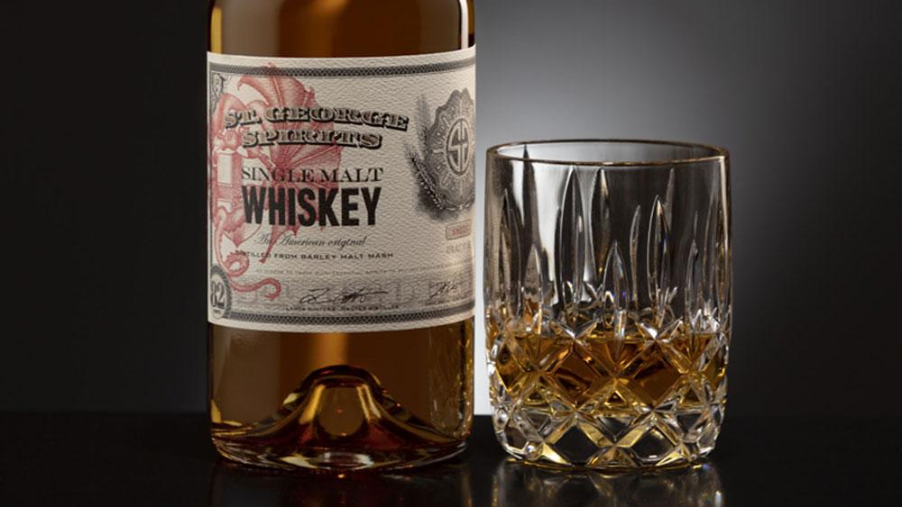 St. George Single Malt Whiskey