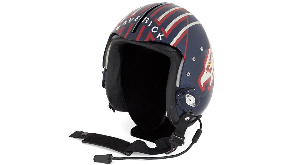 "Tom Cruise aka Pete ""Maverick"" Mitchell's helmet from Top Gun"