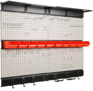 Ultrawall Pegboard with Hooks