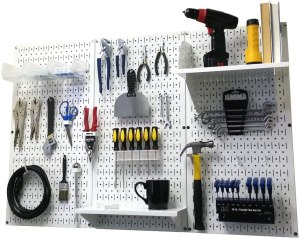 Wall Control Store Pegboard Organizer