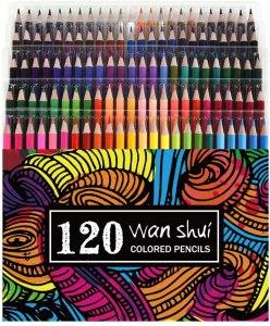 Wanshui 120 Colored Pencils