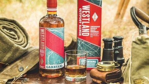 Westland Outpost Range Single malt Whiskey