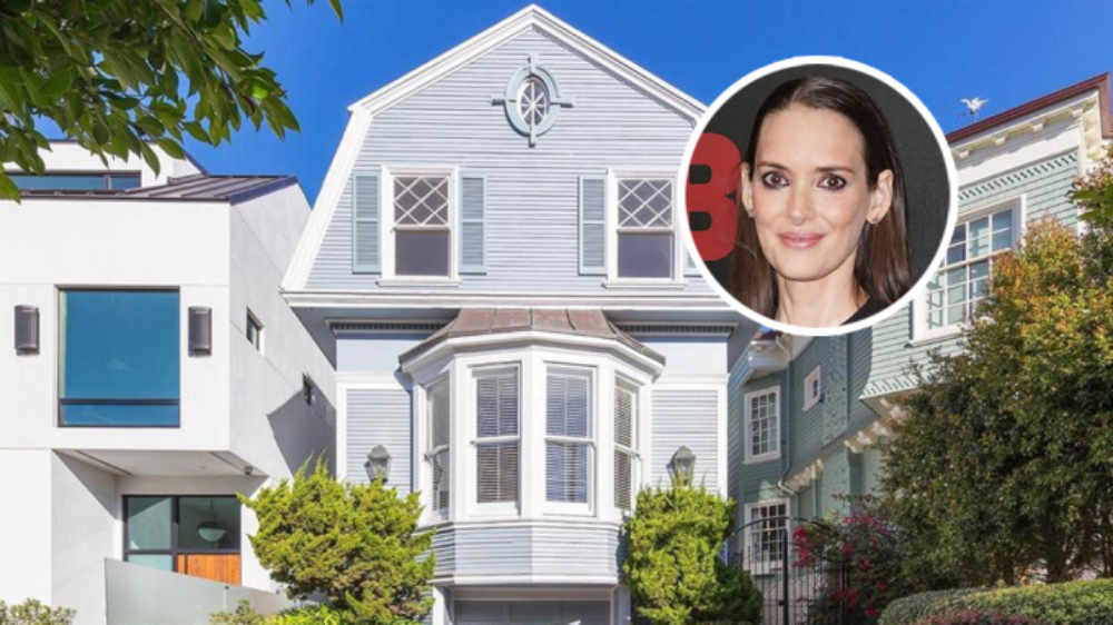 Winona Ryder Lists Her Dutch Colonial San Francisco Home for $5 Million