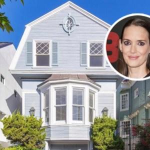 Winona Ryder San Francisco house