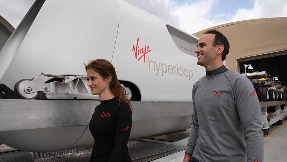 Virgin Hyperloop XP 2