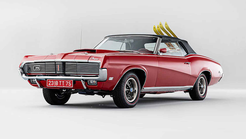 James Bond 1967 Mercury Cougar XR7 Convertible