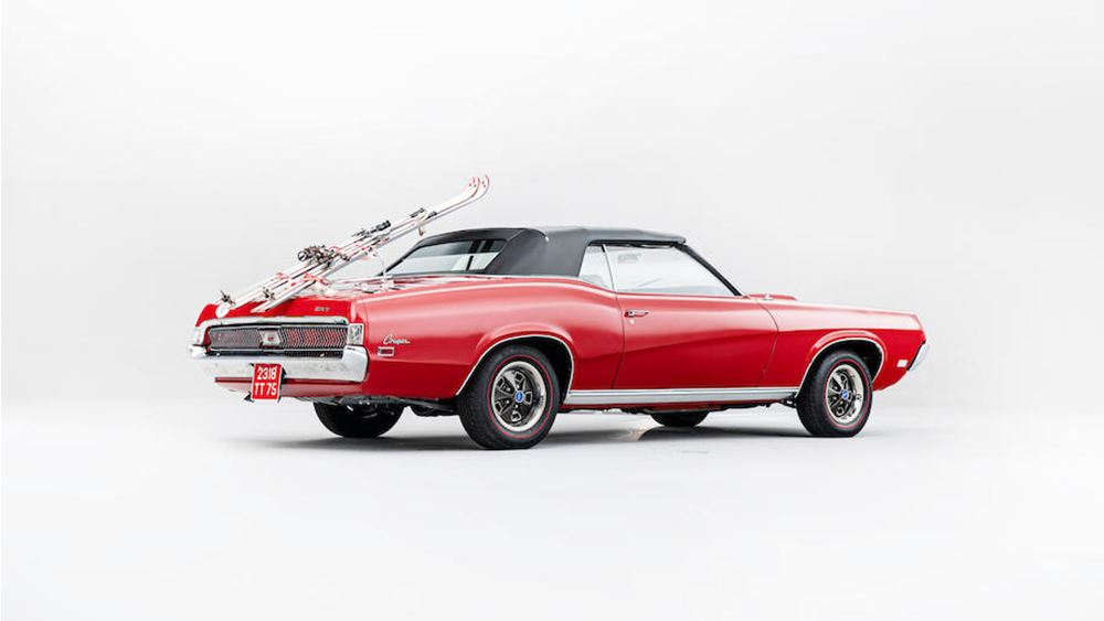 James Bond 1967 Mercury Cougar XR7 Convertible
