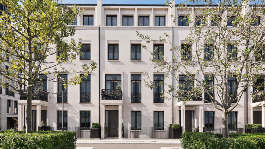 Inside a $49 Million Townhouse in London's Most Desirable Neighborhood