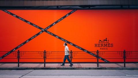 Hermes storefront