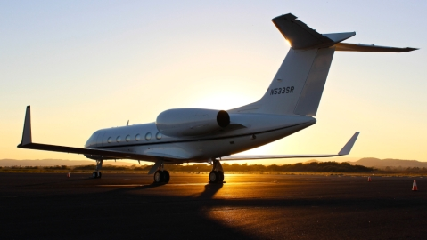 private aviation covid