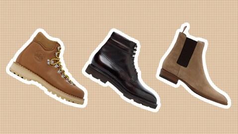 Boots from Diemme, John Lobb & Saint Laurent.