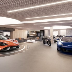 mclaren super garage