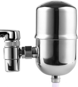Engdenton Stainless-Steel Faucet Water Filter System