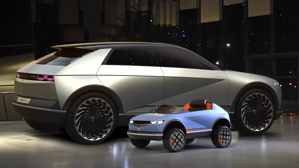 Hyundai electric kid's car