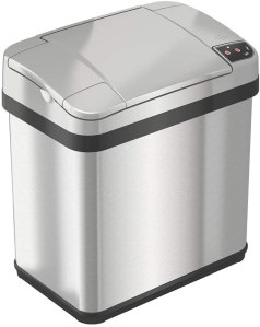 iTouchless Touchless Trash Can