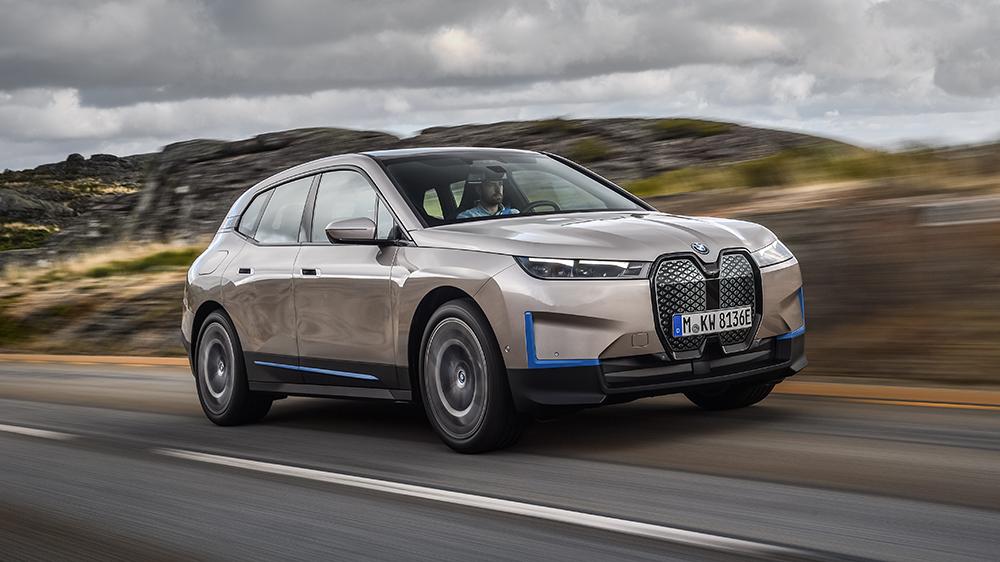 BMW iX electric crossover concept