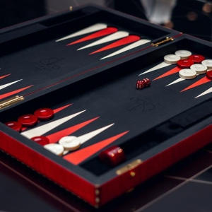 Jacob & Co.'s luxury backgammon set