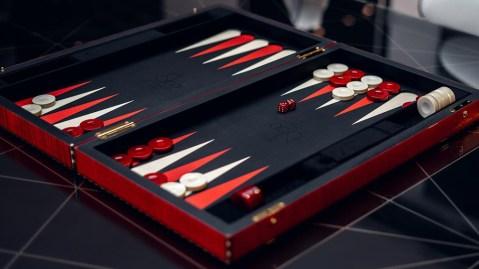 Jacob & Co.'s luxury backgammon set