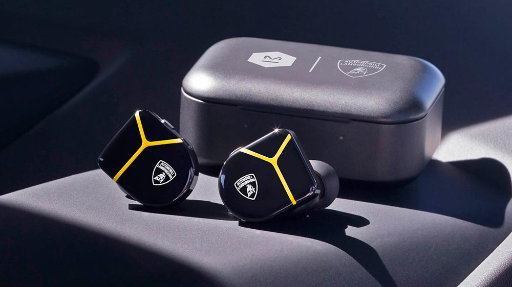 Master & Dynamic x Automobili Lamborghini MW07 Plus inner-ear headphones