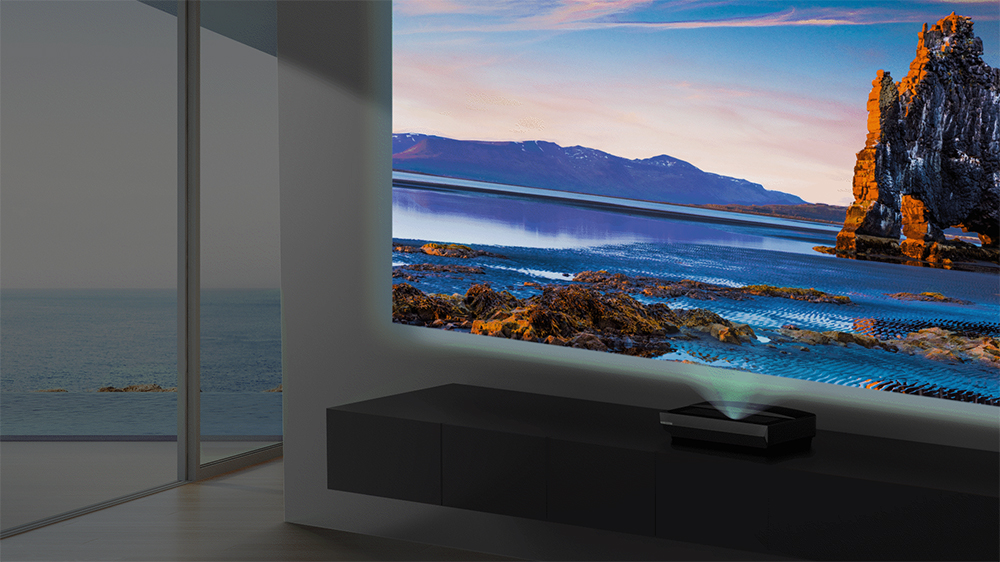 Bomaker Polaris Ultra-Short-Throw Laser TV
