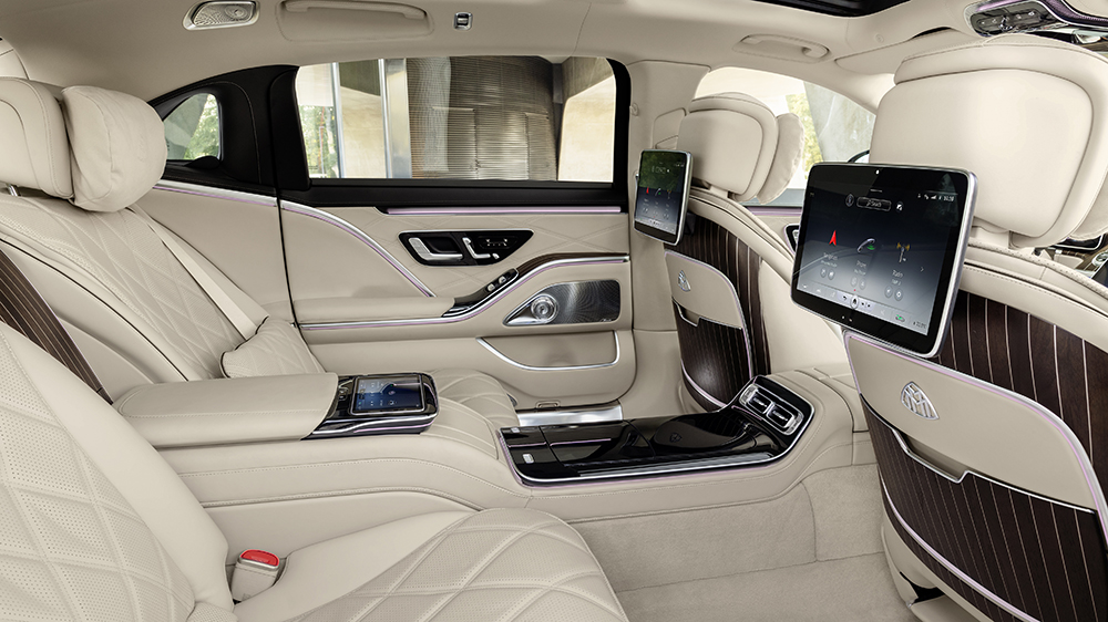 Inside the 2021 Mercedes-Maybach S580 4Matic