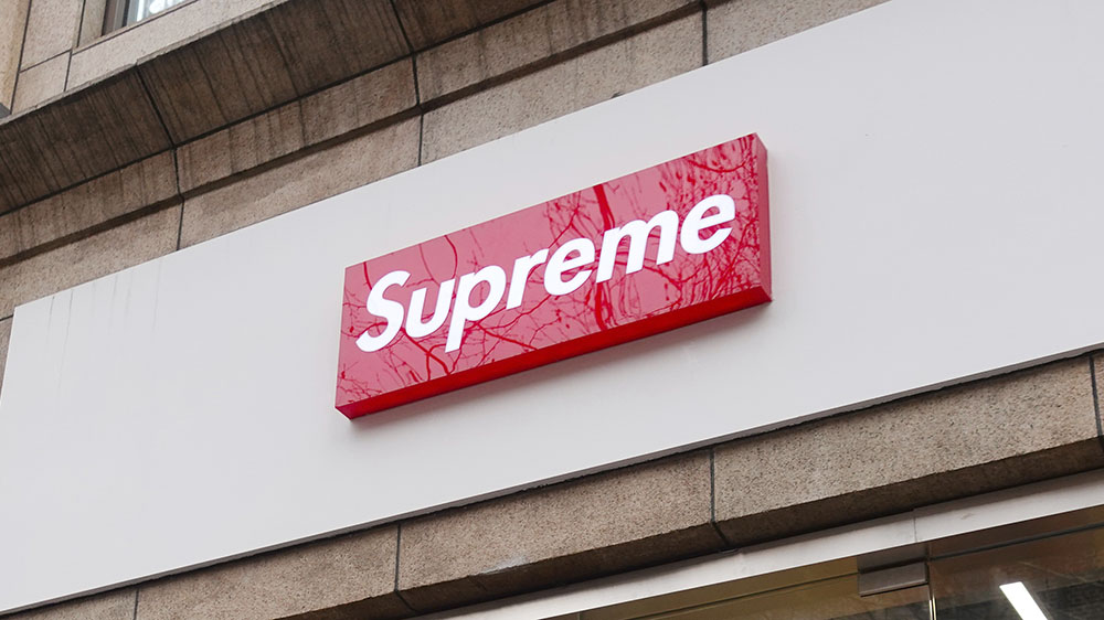The Supreme store in Shanghai in 2019