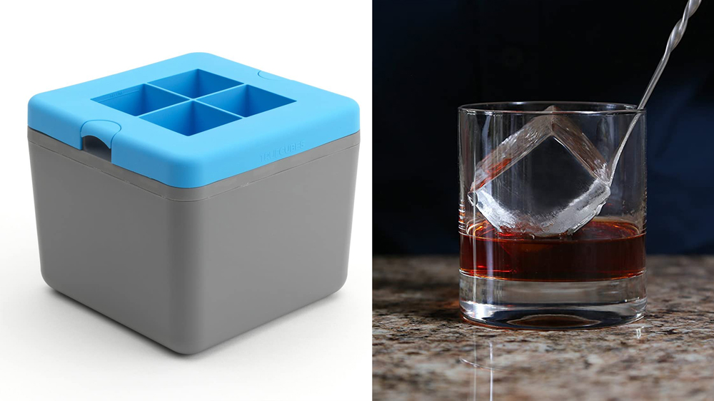 True Cubes Clear Ice Cube Tray