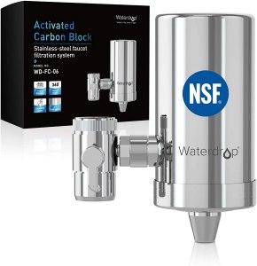 Waterdrop Stainless-Steel Faucet Water Filter